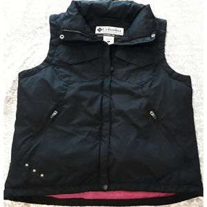 Columbia Down Feather Puff Vest